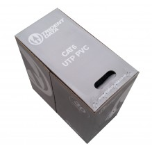 Trident Cat6 UTP PVC Grey B305M