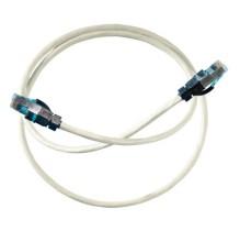 Ortronics Clarity Cat6 UTP LSZH Grey Patch Lead 1m