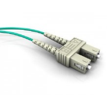Draka UC-Connect 1m LC-ST OM3 Multimode Duplex Patch Lead