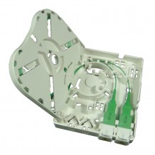 Prysmian 2 Way SC/UPC Adaptor Only Ultra Compact Termination Box