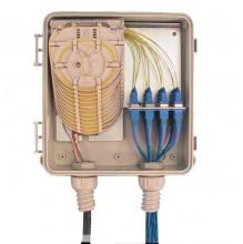 Prysmian LC 24 Fibre Pigtails and Adaptors Internal/External Termination Box