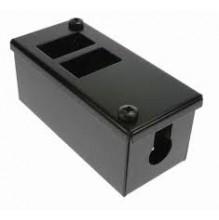 2 Way LJ6C Horizontal POD Box 25mm Gland