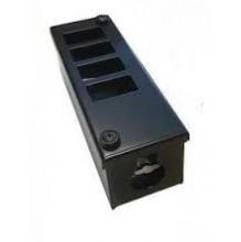 4 Way LJ6C Horizontal POD Box 25mm Gland