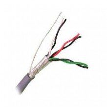 9503 Equivalent Three Pair Foil Screened 24AWG LSF