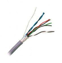 9504 Equivalent Four Pair Foil Screened 24AWG LSF