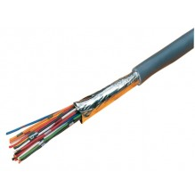 9540 Equivalent Ten Core Foil Screened 24AWG LSF White