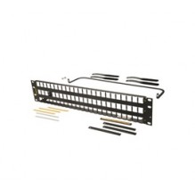 Ortronics Clarity 72 Port Unloaded Flat 2U HDJ Jack Patch Panel