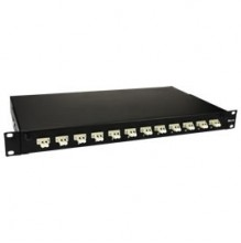 Trident 24 Way (12 Duplex) LC SM Patch Panel