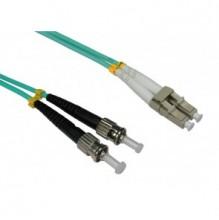 Trident 1m LC-ST OM3 Multimode Duplex Patch Lead