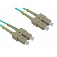 Trident 3m SC-SC OM3 Multimode Duplex Patch Lead