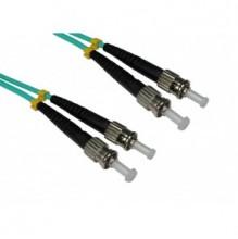 Trident 1m ST-ST OM3 Multimode Duplex Patch Lead