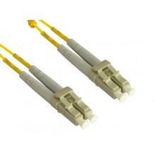 Trident 1m LC-LC OS2 Singlemode Duplex Patch Lead