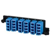 Infinium High Density 6 LC Quad Singlemode Adaptor Panel