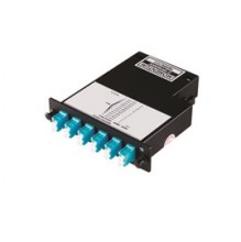 Infinium Standard Density 12 Fibre OM4 MTP to LC Duplex Cassette
