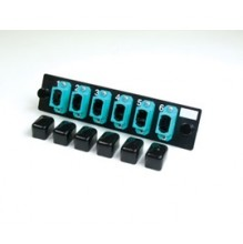 Infinium Standard Density 6 Way Multimode MPO Adaptor Panel