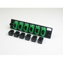 Infinium Standard Density 6 Way Singlemode MPO Adaptor Panel