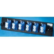 Infinium Standard Density 6 LC Duplex Singlemode Adaptor Panel