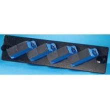 Infinium Standard Density 4 SC Duplex Singlemode Adaptor Panel