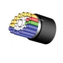 Prysmian 4 Way Direct Install Blown Fibre Tubing