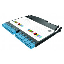 IANOS Base-2 Splice Module 12*LC Duplex OM3