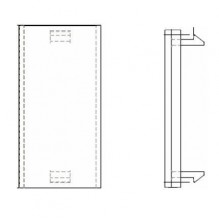Belden EUROMOD Half Blank Insert, 50x25mm