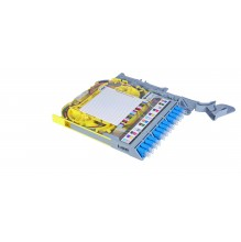 Huber Suhner LiSA Fibre Tray *24 LC Singlemode Pigtails & Adapters
