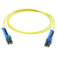 Huber Suhner LC-XD Uniboot SingleMode Duplex 15mtr Patch Cord