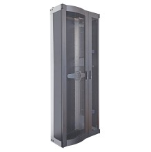 Huber Suhner CDR 900 47U Grey Perforated Doors