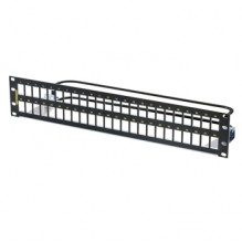 Ortronics Clarity Shielded 48 port Unloaded Panel