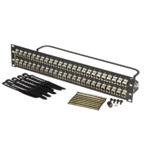 Ortronics Clarity CAT6a 48 Port Panel with Individual Shielded Keystone Jacks