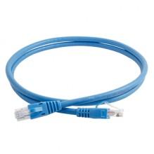 Clarity CAT6 UTP 1mtr Blue LSZH Patch Cord