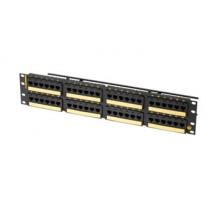 Clarity CAT6A 48 Port Panel Flat 110/6 Port T568A/B