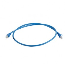 Clarity CAT6a UTP 1mtr Blue LSZH Patch Cord