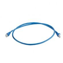 Clarity CAT6a UTP 3mtr Blue LSZH Patch Cord