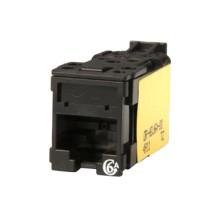 Ortronics Clarity Cat6a UTP Jack T568A/B, Black