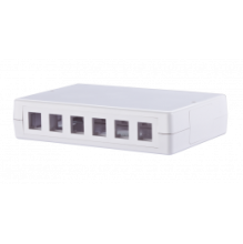 METZ CONNECT 6 Port Keystone Wall Outlet