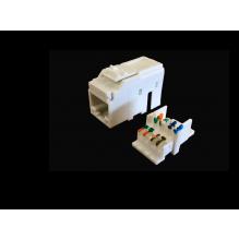 METZ CONNECT Cat6 UTP White Keystone Module