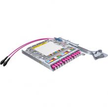 Huber Suhner LiSA 24 Fibre MTP12 Cassette *12 OM4 LCD Adapters