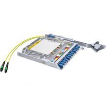 Huber Suhner LiSA 24 Fibre MTP12 Cassette *12 OS2 LCD Adapters