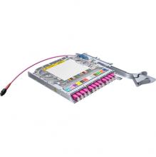 Huber Suhner LiSA 24 Fibre MTP24 Cassette *12 OM4 LCD Adapters