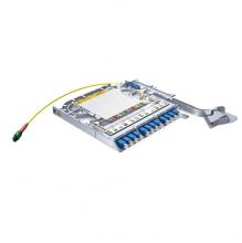 Huber Suhner LiSA 24 Fibre MTP24 Cassette *12 OS2 LCD Adapters