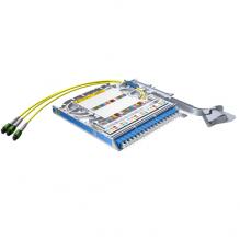 Huber Suhner LiSA 36 Fibre MTP12 Cassette *18 OS2 LCD Adapters