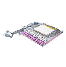 Huber Suhner LiSA 24 Fibre Right Side Splice Tray *12 LCD OM4 Adapters